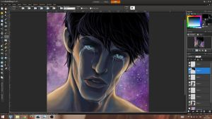 Merlin - Can't go on - WIP. by Nonparellis