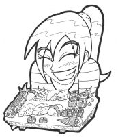 Sushi Lover 5-29-12 by ManiacMcGee01