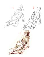 Tutorial - Figure Drawing 01 by sheldonsartacademy