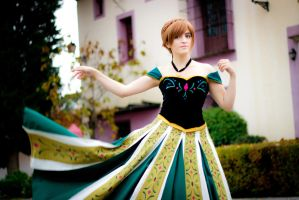 Anna (Coronation Day) [ Frozen ] by kokoammm