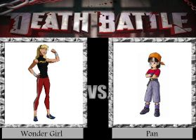 Wonder Girl vs. Pan by JasonPictures