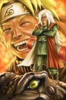 Naurto--Goodbye Jiraiya by alvinwcy