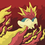 Cyndaquil's Flamethrower by Exiled-Shadow