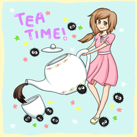 Tea Time by Mushiboo