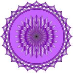 Purple Lotus Flower by thndrhwk