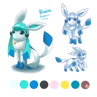 Pokemon OC: Bluekiss Reference by Bluekiss131
