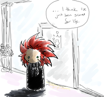 KH2:  Scarred for Life by SirLadySketch