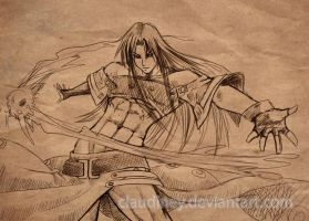 Guilty Gear_Testament sketch by Claudiney
