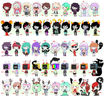 [50 adopts] -CLOSED- by Sugadoptables
