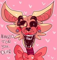 Mangle Valentine by BrokenWinterSoldier