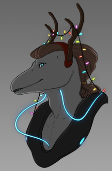 A Very Alien Christmas by BrittanyWillows