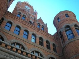 Old Red Courthouse by Schnickitz