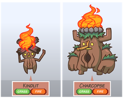 Fakemon: The Bonfire Spirits by The-Knick