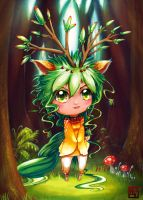 NelNel-chan's Nelia The Forest Queen by Houa-Vang