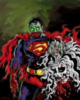 Zombie Superman by GavinMichelli
