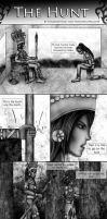 The Hunt Part 1 [APH comic] by sailorgreywolf
