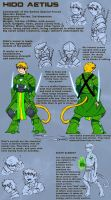 The City- Hido's Reference sheet by Spirogs