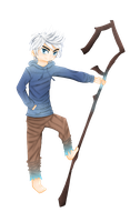 Jack Frost - Rise of the Guardians by Mary-kins
