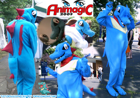 My Totodile Cosplay by Dracomonstar