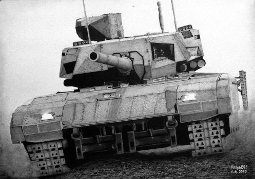 Armata's charge by Ralph1989