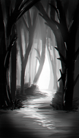 Forest Entrance by Createvi