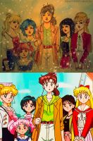 Sailor Moon redraw by vika8D