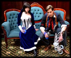 Bioshock Infinite by miyumiyuchancosplay