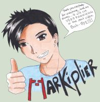 Markiplier Drawing by TheSoulCollectors