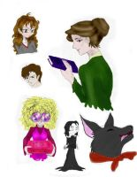 HP Sketchies by Malla13
