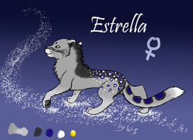 Estrella Ref for contest by Wolf-Shadowrunner
