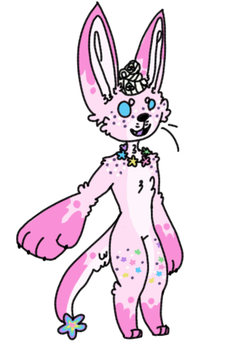 40 point Strawberry milkshake fennec adopt (close) by Sweetnfluffy-adopts