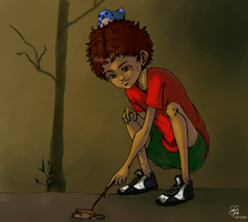 David and the Mouse by ViolentIncidents