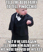 Baby Godfather - Pinocchio by INF3CT3D-D3M0N