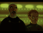 SW - Count Dooku and Admiral Tarkin by Shaiger
