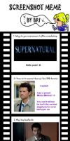 Supernatural Meme by xlivethelyricsx