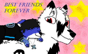 Friends Forever by wolfmad123