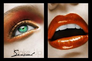 Sensual Make Up by Bl0oDy4nGeL