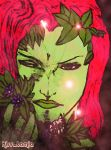 Hush Poison Ivy And The Dying Flowers by kiss-lamia-lilith