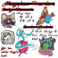 Megaplex Preorders (CON SPECIAL PRICES) by dragonmelde