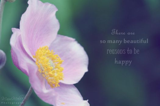 Be happy ~ by MelissaBalkenohl