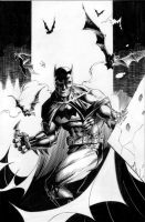 Batman - There You Are - inks by JMan-3H