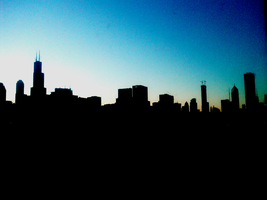 Chicago Skyline by carnemire