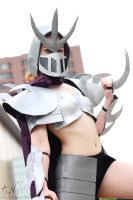 T.M.N.T.: Fem. Shredder #4 (Shelle-Chii) by AilesNoir