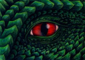 Dragon Eye by Shadowjewel