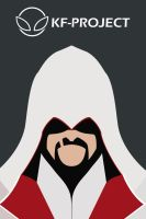 Ezio Auditore Da Firenze Minimalist by KF-Project