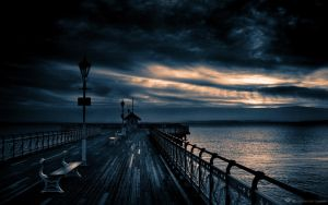 Atardecer del Mar by jvcreations