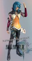 .:Final Fantasy XIII - Yuj:. by XxNemmieSpardaxX