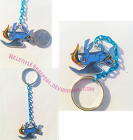 Rainbow Dash Keychain by RelentlessRepeat