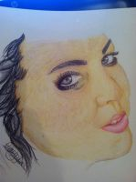 Amy Lee Drawing by IxAmxUnknown