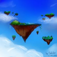 Sky Islands Sketch by S-A-K-I-K-O